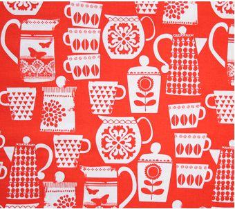Hilfe, was für eine tolle Kollektion !    Patchworkstoff aus 100% Baumwolle von Michael Miller, Breite ca 110cm.    Put A Lid On It    Diese Stoffe ei