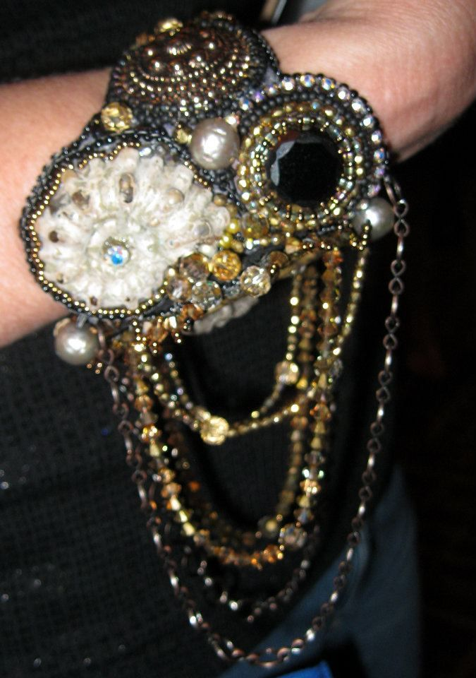 Sherry Serafini | Bead Embroidery Jewelry | Pinterest ...