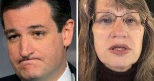 Woman Destroys Lyin' Ted
