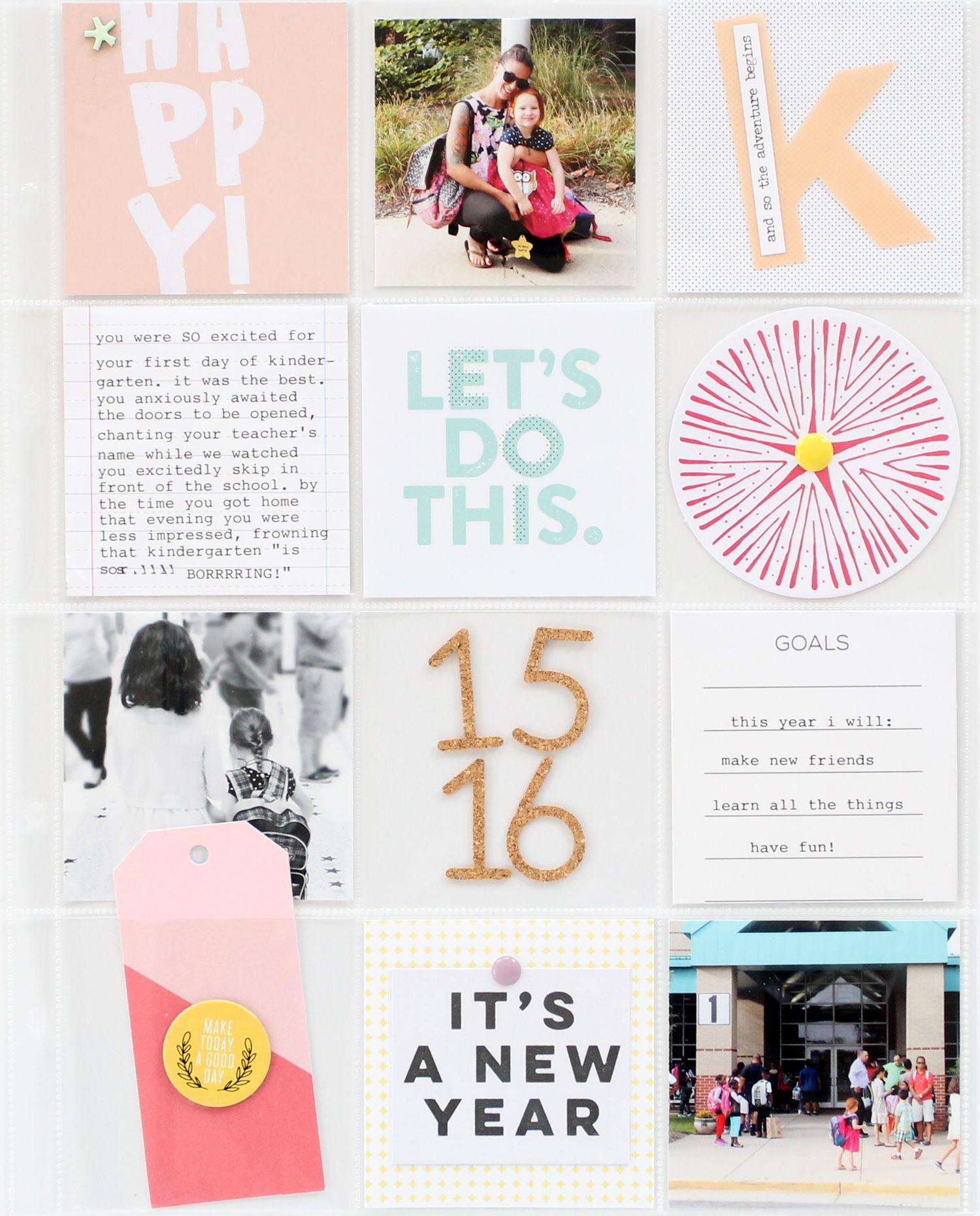 Scrapbook ideas kindergarten - Scrapbooking Kits Paper Supplies Ideas More At Emma S Kindergarten Album