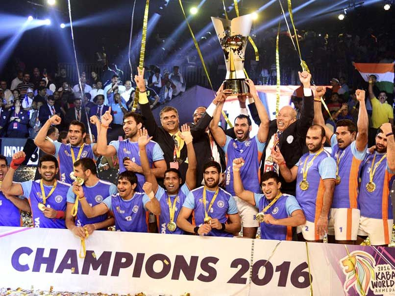 Kabaddi World Cup 2016 India Beat Iran To Clinch Title Inspired By A Superlative Performance From Raider Ajay Thakur Kabaddi World Cup India Win India Facts