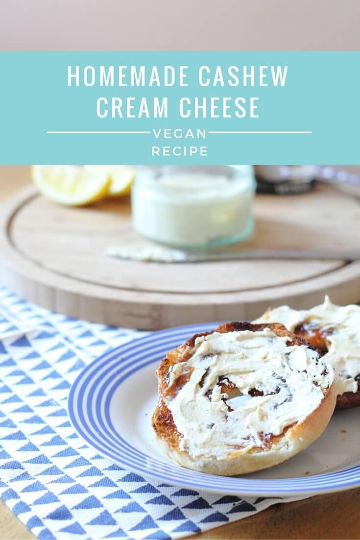 Homemade Vegan Cashew Cream Cheese Recipe