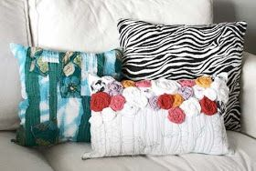 alisaburke: Recycled Roses Pillow Tutorial