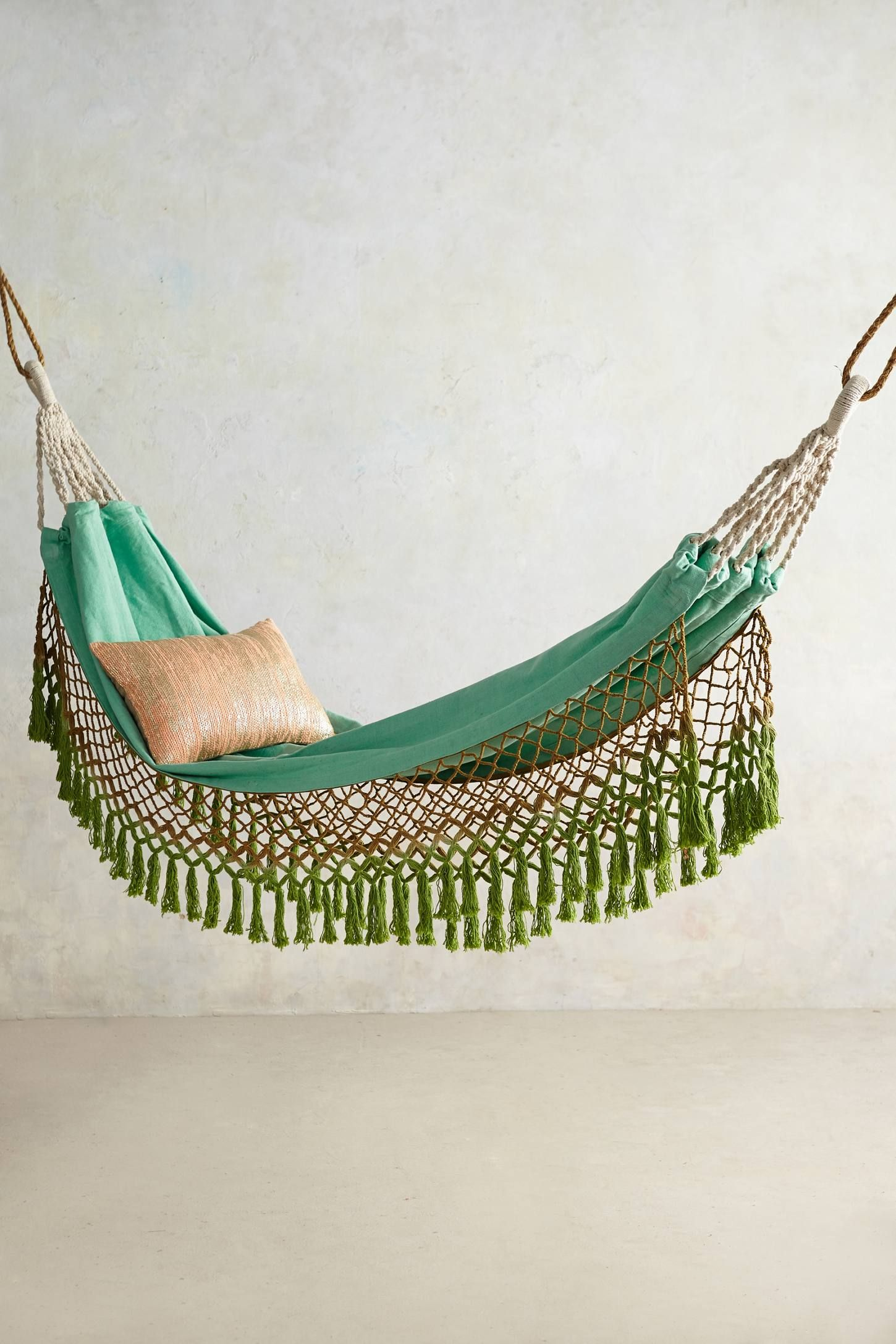 Canyon fringe hammock anthropologie future homess pinterest