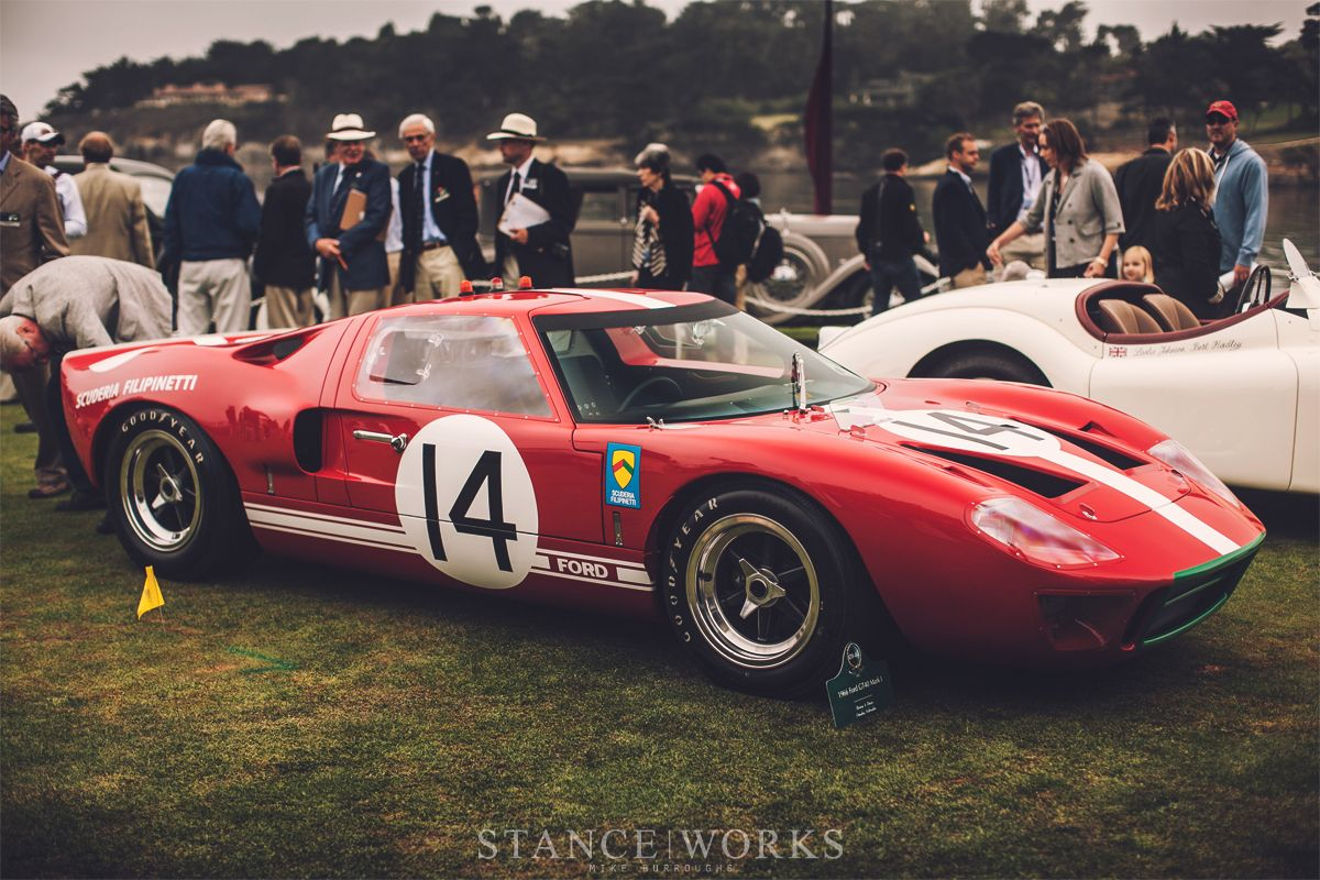 1966 ford gt40 mk1 le mans race car
