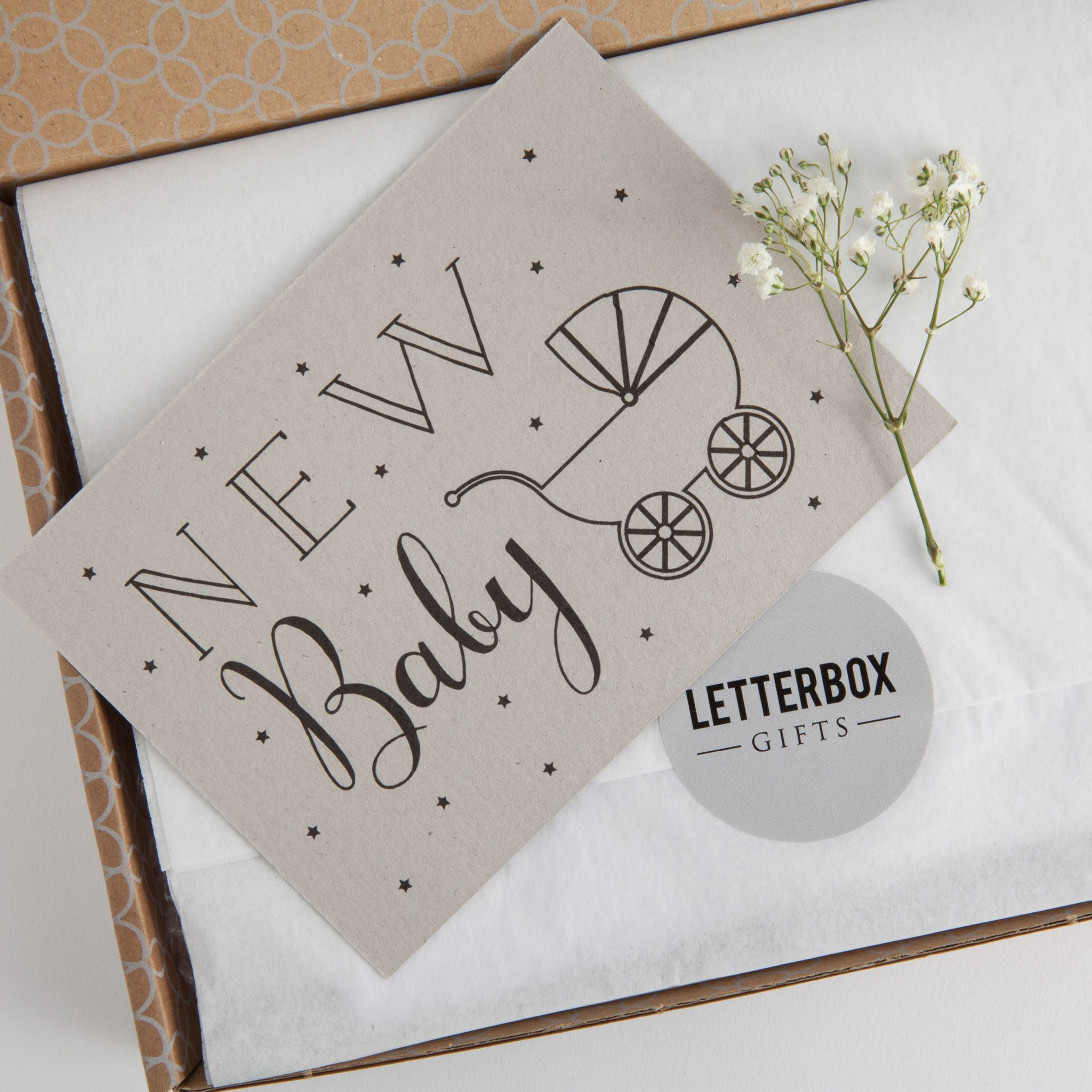 The new baby letterbox gift deserves a new baby greetings card of the new baby letterbox gift deserves a new baby greetings card of course newbaby kristyandbryce Gallery