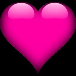 Heart 2 Pink Icon Heart Icons Love Heart Emoji Heart Wallpaper