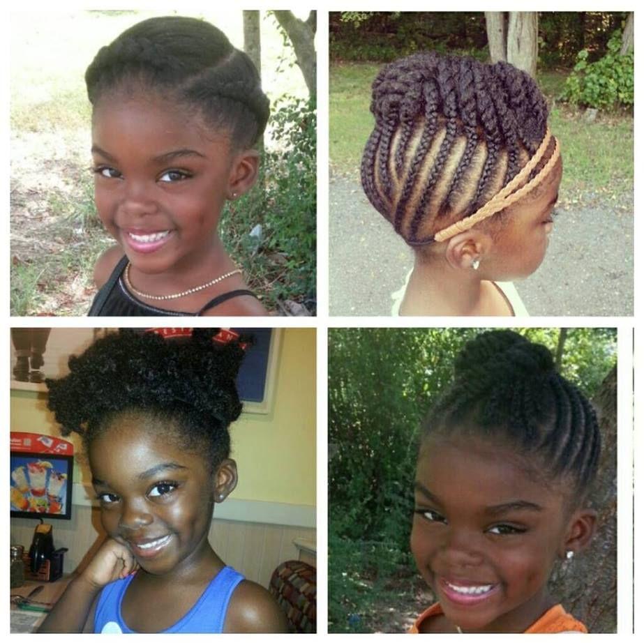 Fantastic 1000 Images About Girl Braids On Pinterest Cornrows Little Short Hairstyles For Black Women Fulllsitofus
