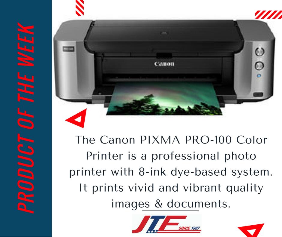 The Canon Pixma Pro 100 Color Printer Price Jtf Business System