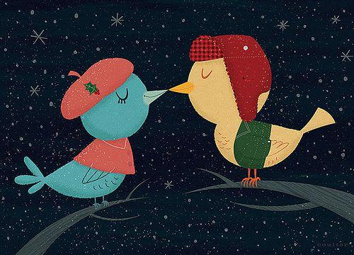 Kissing Birds | Flickr - Photo Sharing!