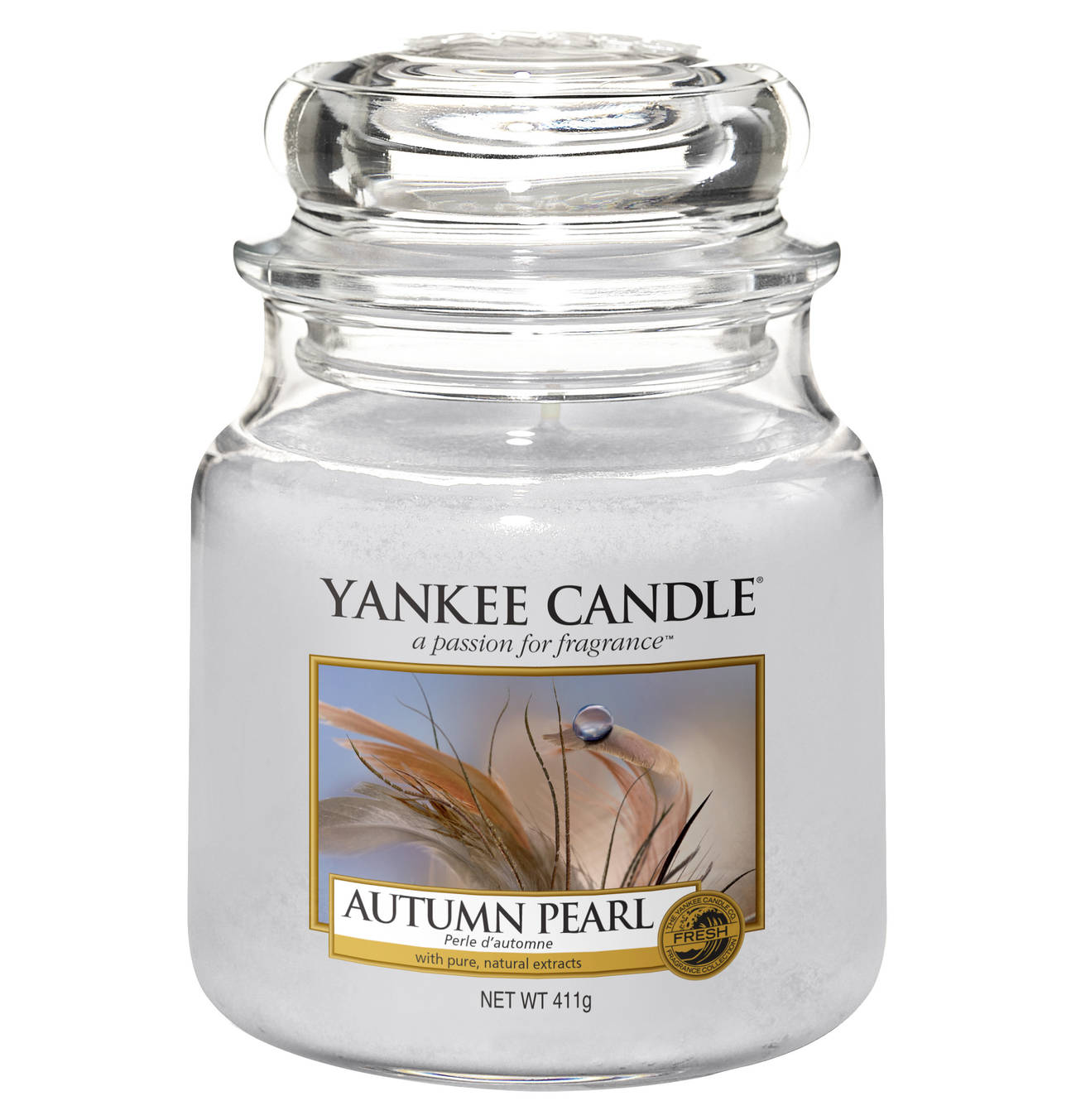 Yankee Candle Autum Pearl Jar M Products In 2019 Herbst Kerzen