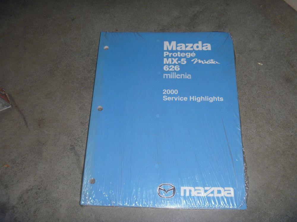 2000 Mazda Mx 5 Miata Convertible Shop Service Highlights Repair Manual New Mazda Mx5 Miata Mazda Protege Mazda Mx5