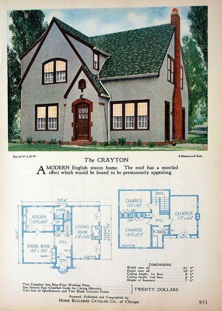 vintage house plans hbc_1928_the_ crayton rachel shoemaker flickr - Rachel Home Plans