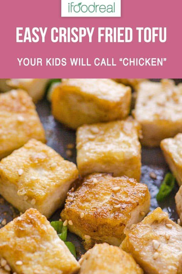 Crispy Pan Fried Tofu - iFOODreal