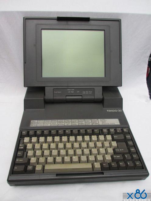 The Toshiba T3100 20 Toshiba Old Computers Cyberpunk Aesthetic