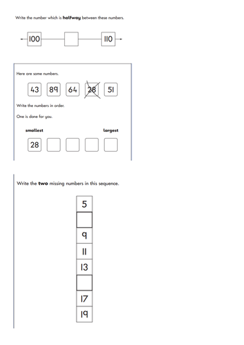 Year 2 Sat Questions Time Place Value Money