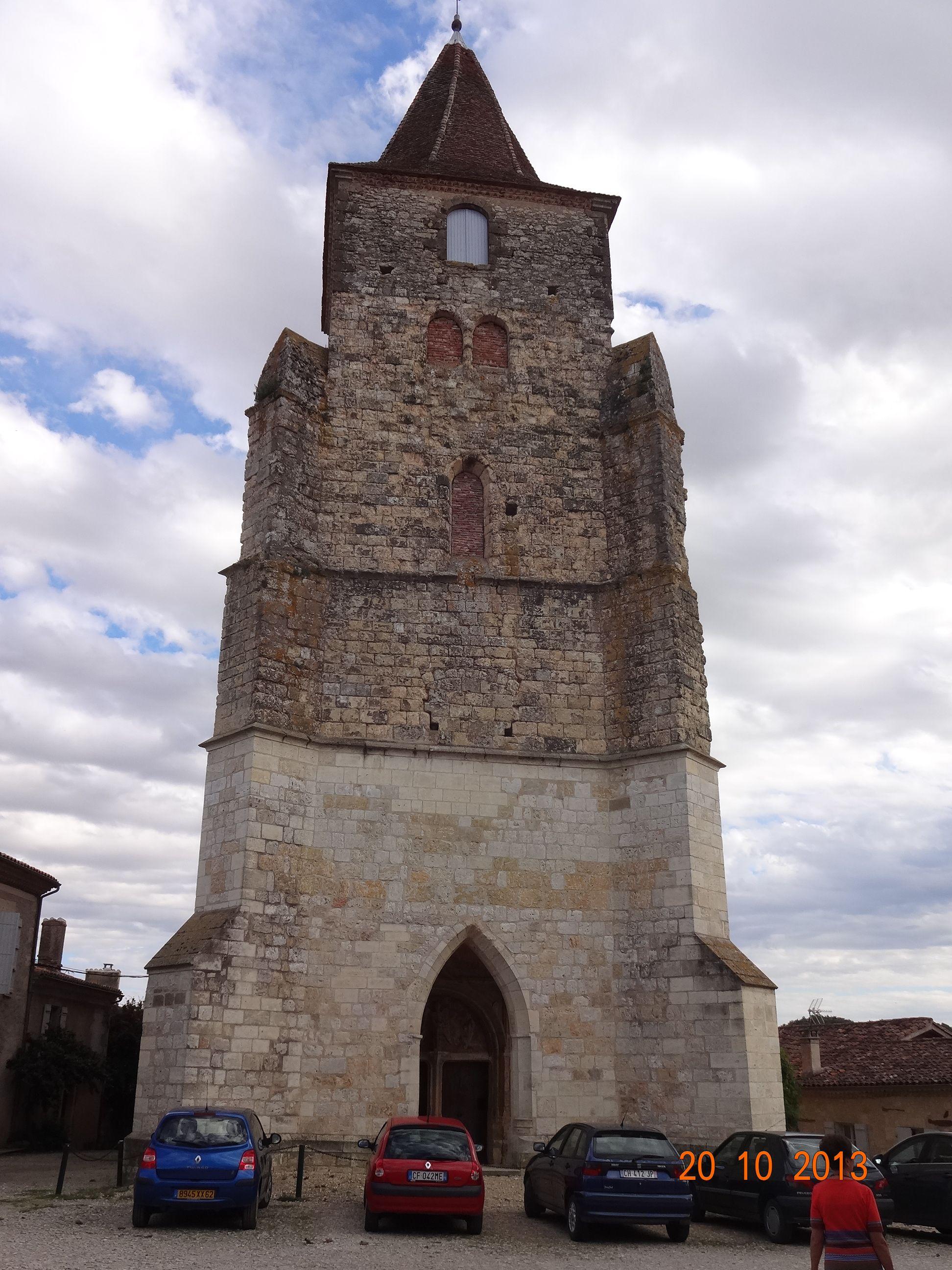 Eglise romane de Lavardens (France) Roman