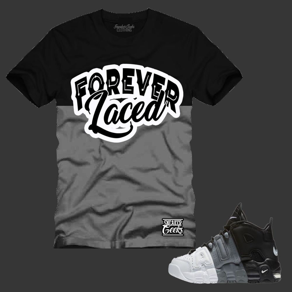 a5d230add382 FOREVER LACED T-Shirt to match Nike Air Uptempo Tri-Color