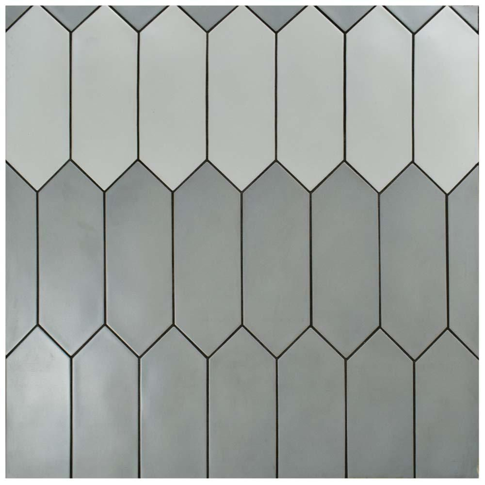 Merola Tile Kite Dark Grey 4 In X 11 3 4 In Porcelain Subway Floor And Wall Tile 11 81 Sq Ft Case Feq12kdg The Home Depot Porcelain Flooring Wall Tiles Floor And Wall Tile