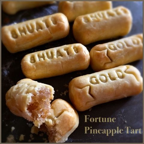 My Mind Patch: Fortune Pineapple Tart