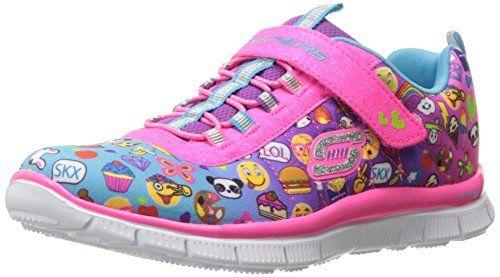 Skechers Kids Nebula Prism Pop Sneaker (Little Kid / Big Kid), Noir / Multi