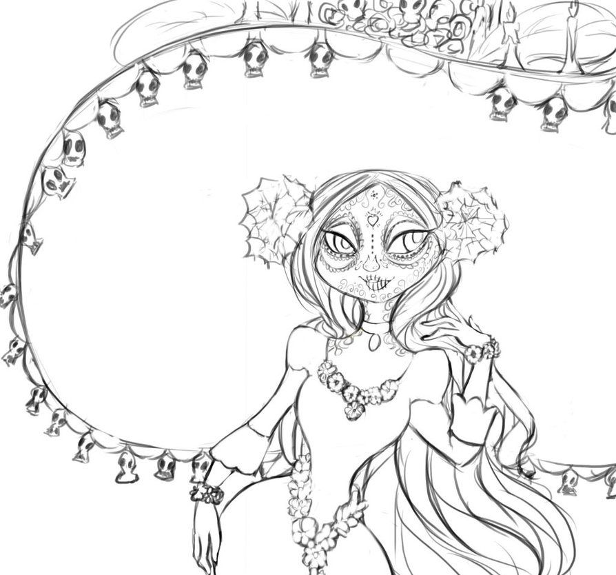 The Book Of Life Coloring Pages Printable