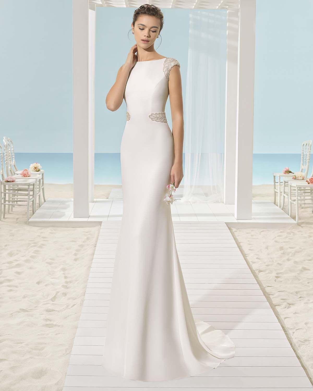 Vestido de Novia de Aire Barcelona (XIES), colección aire beach ...