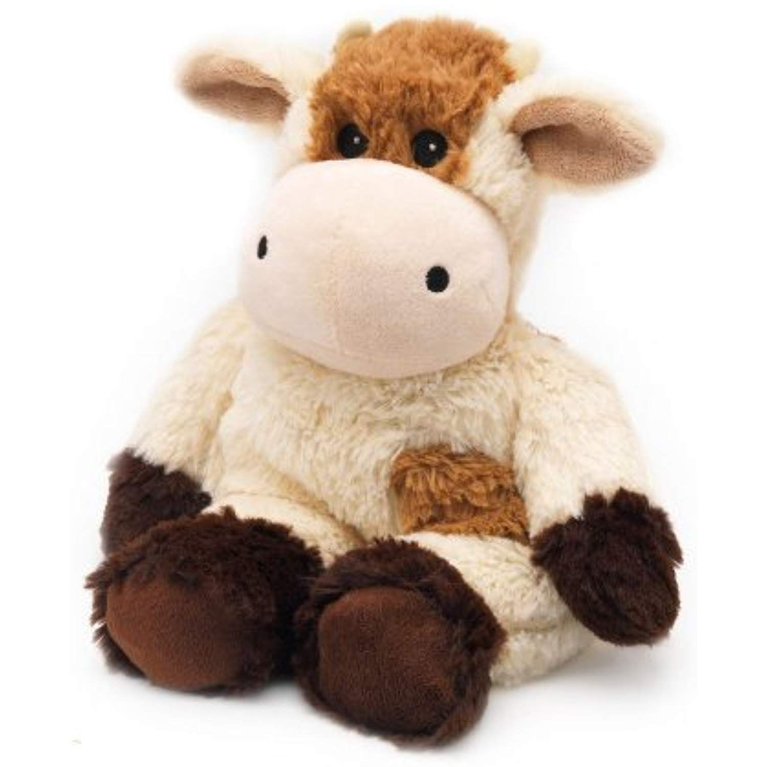 Cozy Plush Cow Microwaveable Soft Stuffed Animal Toy