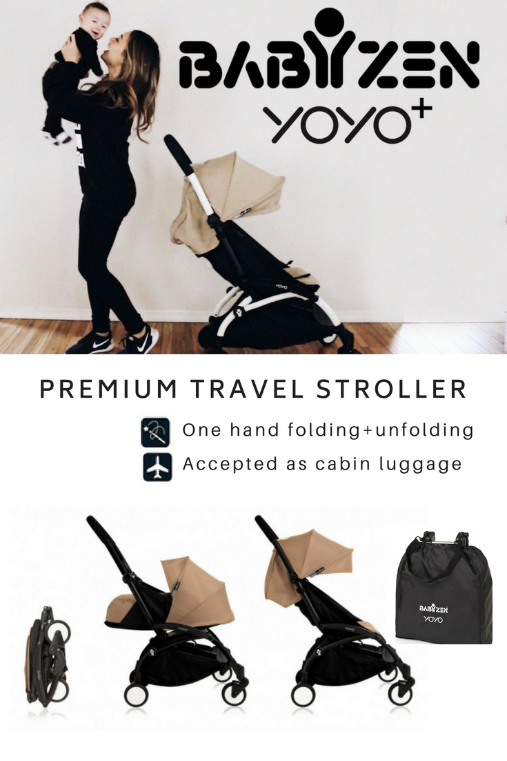 Great stroller; teeny tiny compact fold makes it perfect