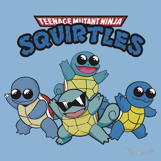 T shirt designs teenage mutant ninja pikachu tmnt