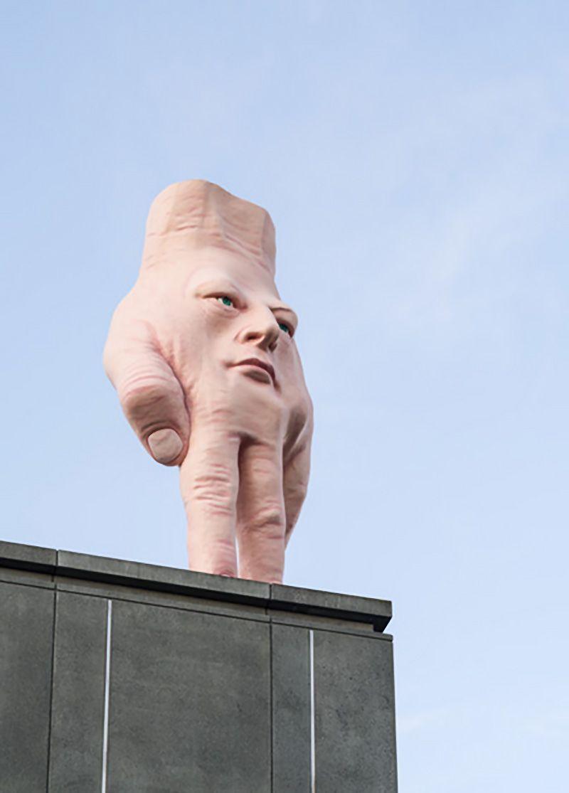 Sculpture Ron Van Hout Zealand Street Art