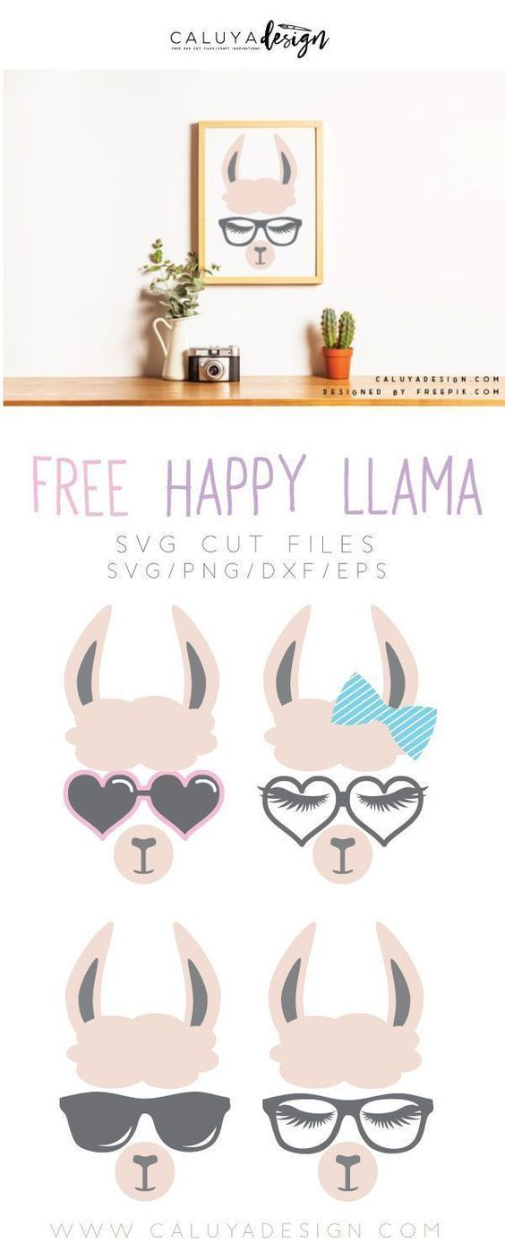 Free Llama Faces SVG, PNG, EPS & DXF Kostenlose svg