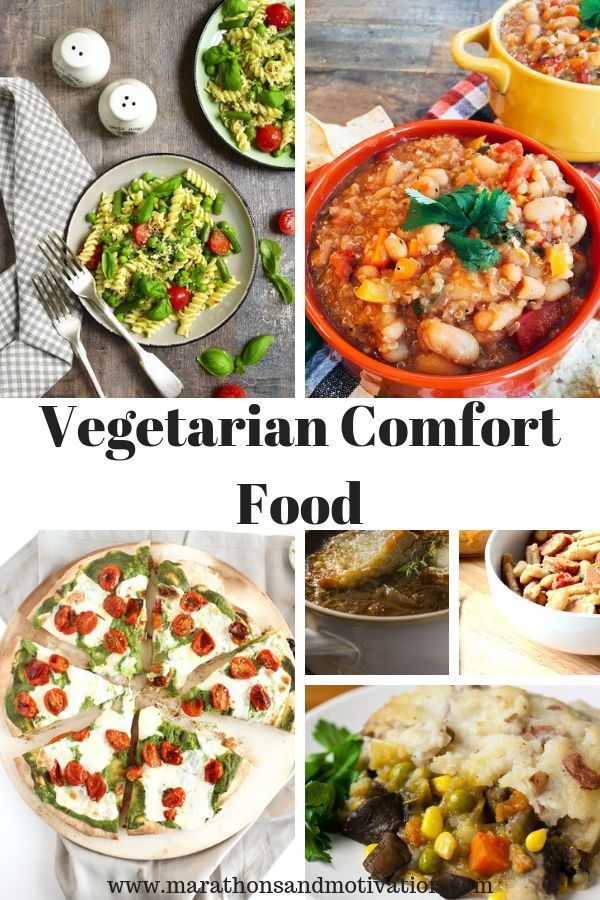 Vegetarian Comfort Food Meatless Meals Vegetarian