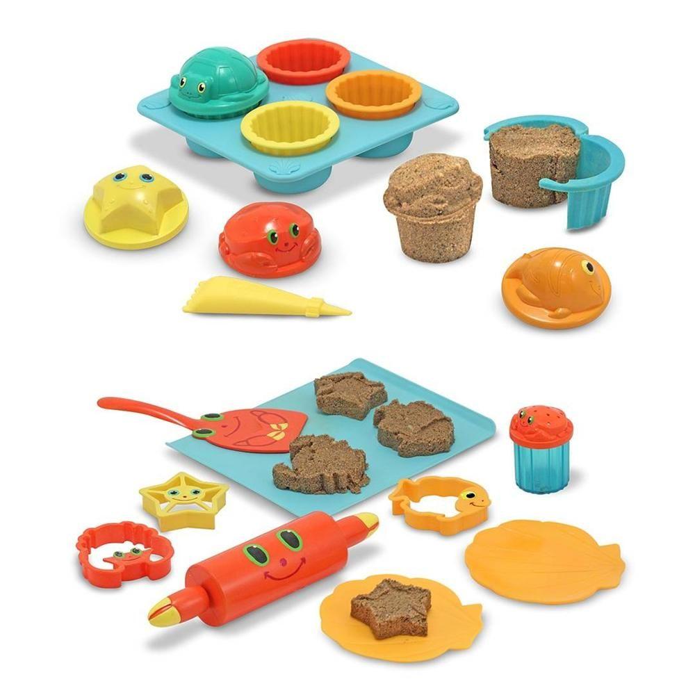 Beach toy - Seaside Sidekicks Sand Cupcake Set & Cookie Set