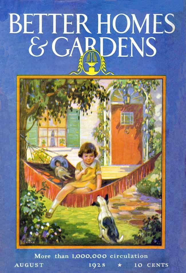 Better Homes Gardens: Better Homes And Gardens, August 1928