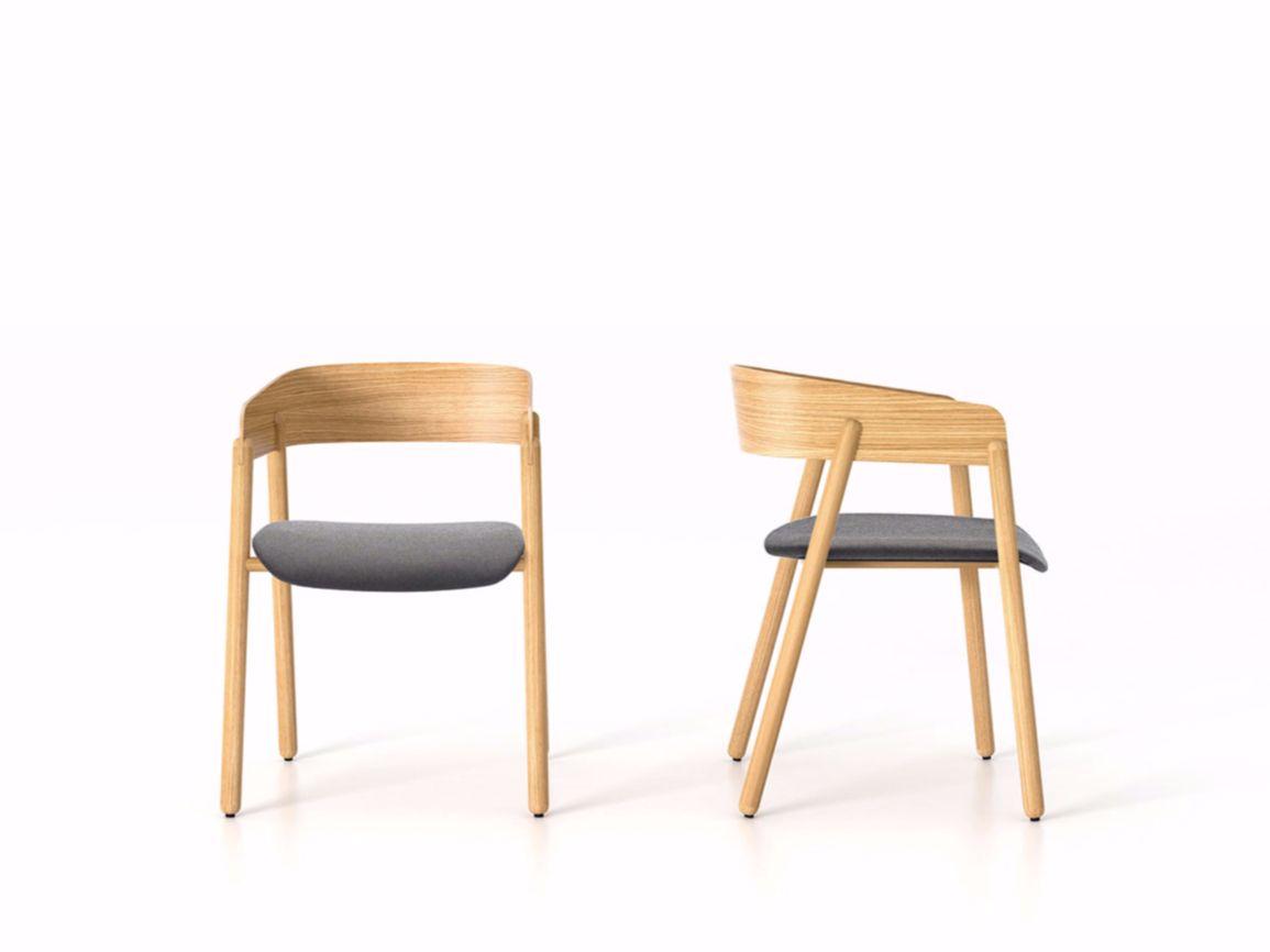 Sedie In Legno Con Braccioli : Mava sedia imbottita woods