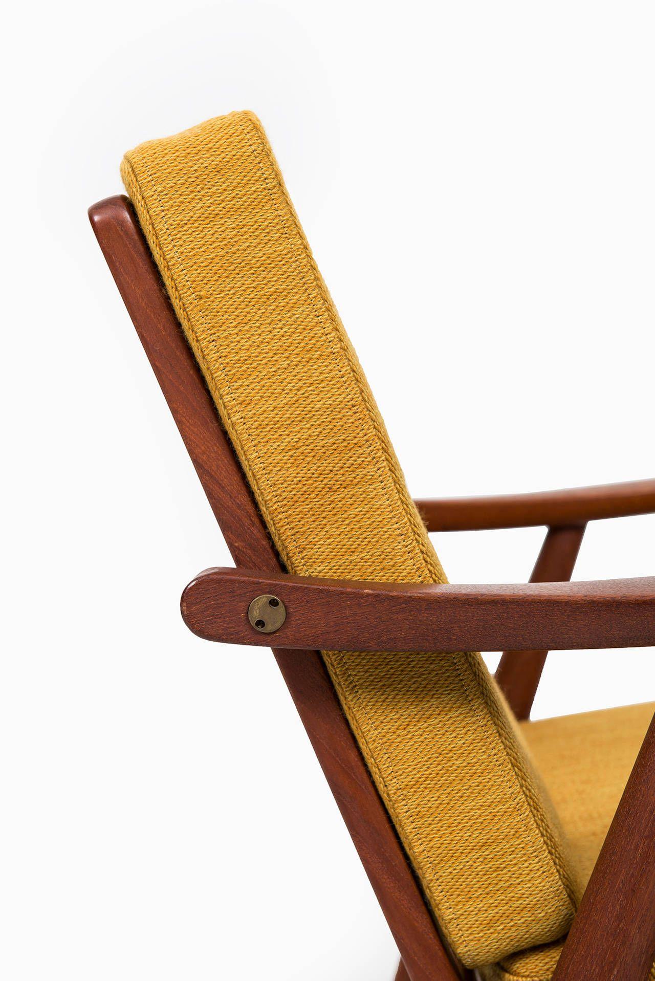 Wooden easy chair models - Hans Wegner Easy Chairs Model Ge 270 By Getama In Denmark