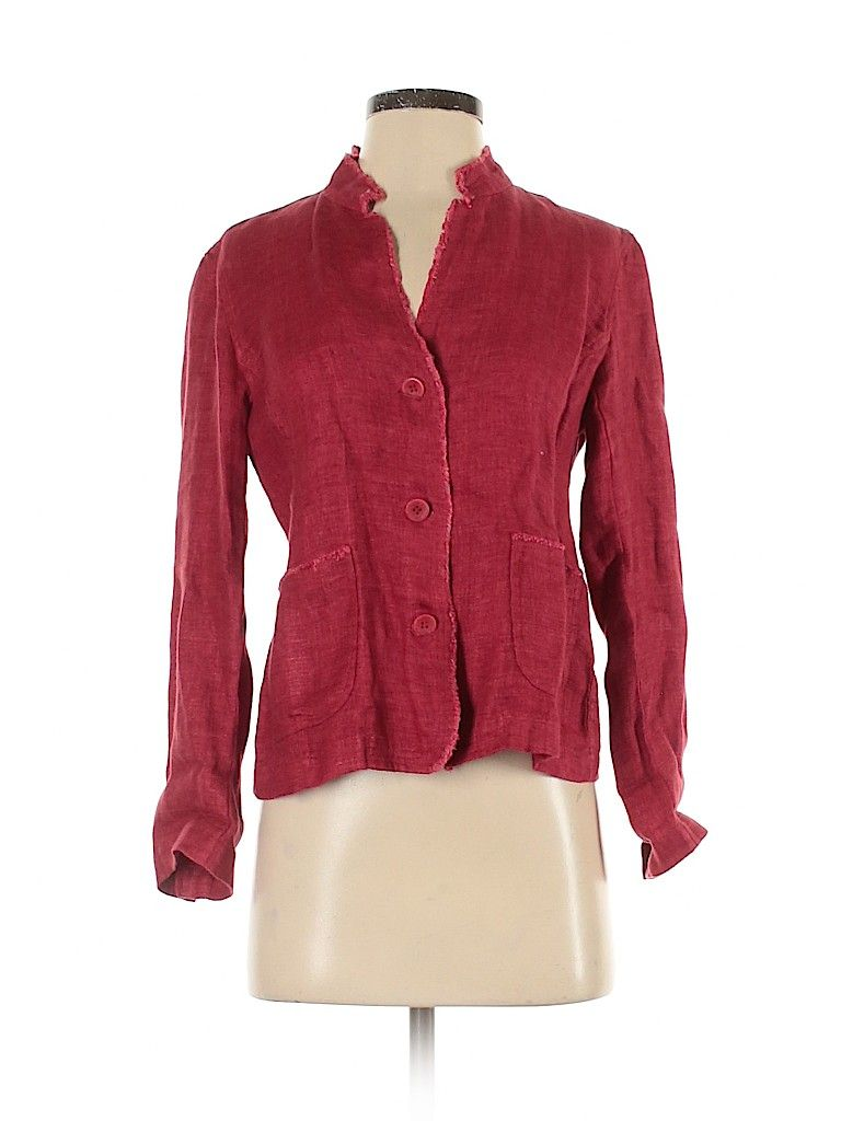 Eileen Fisher Jacket Red Solid Jackets Outerwear Size P Petite Eileen Fisher Jacket Eileen Fisher Red Jacket [ 1024 x 768 Pixel ]