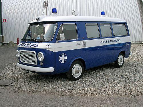 Fiat 238 Automobile Ambulanza Auto