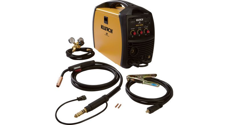 Klutch MIG 140SI Flux-Core/MIG Wire-Feed Welder — 115V, 140 Amp ...