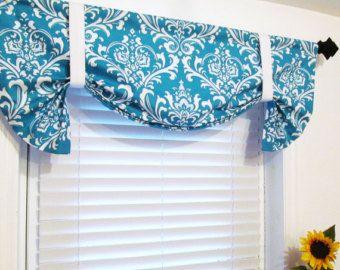Turquoise Kitchen Curtains