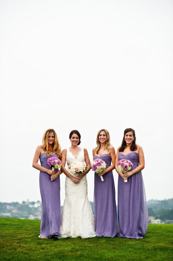 Damas de Honor en color Lila | Ideas de mi boda | Pinterest