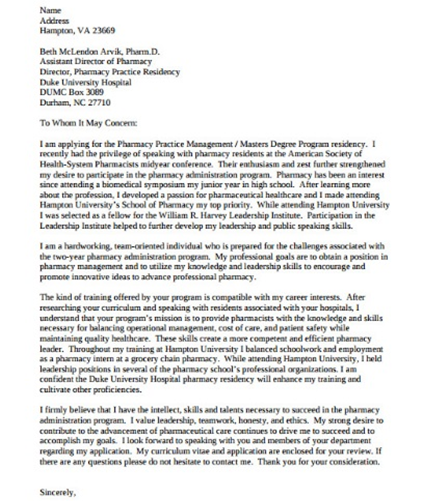 letter of intent template graduate school letter of intent