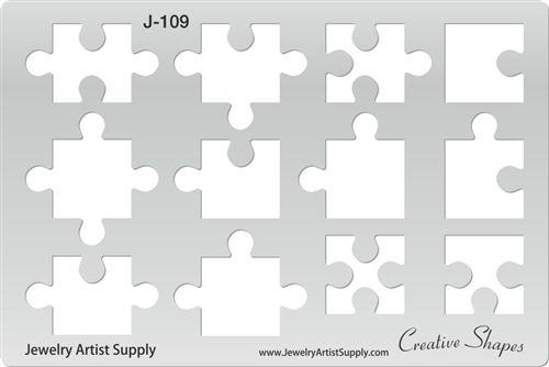 Puzzle Pieces Template  Templates    Puzzle Pieces