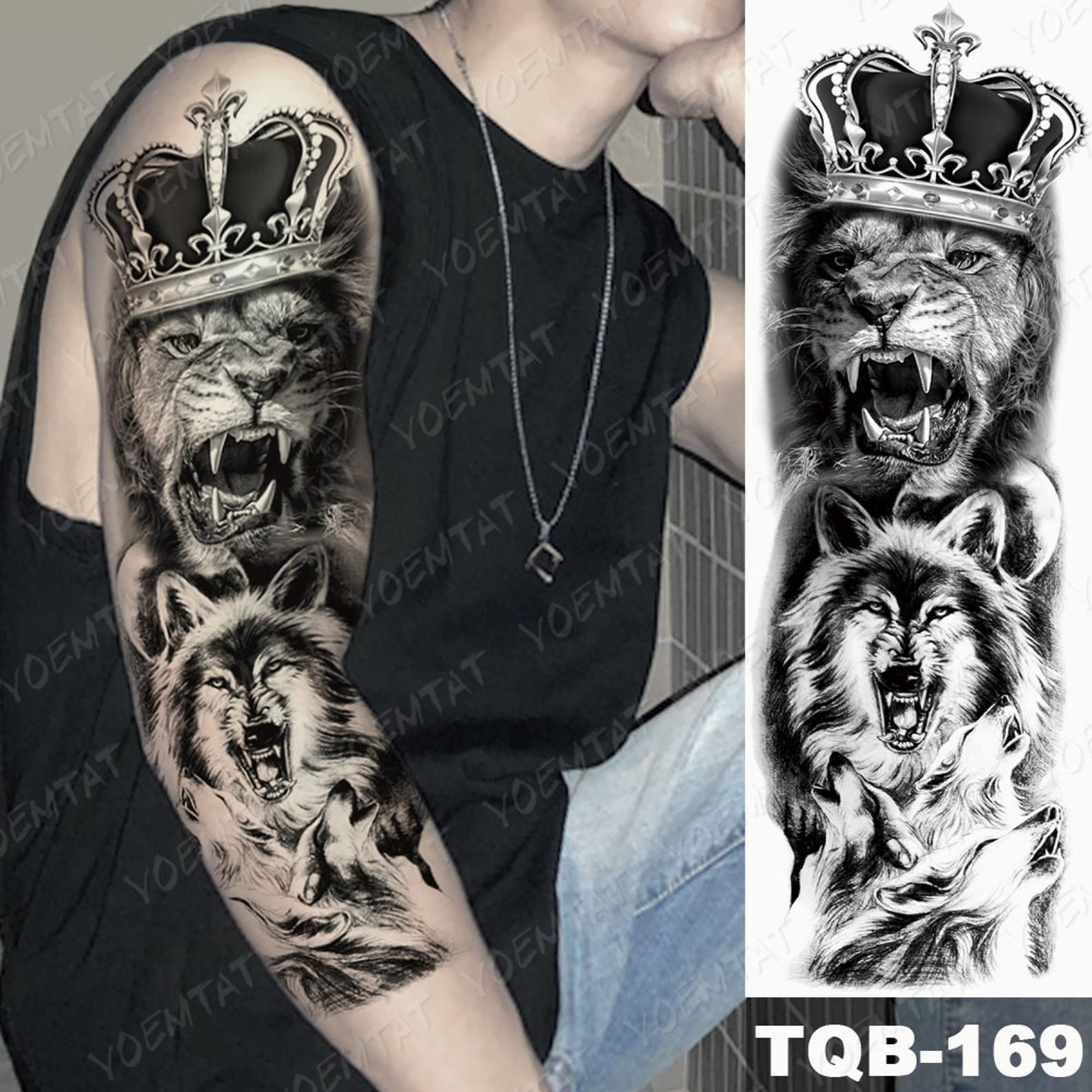Temporary tattoo sleeve fake tattoo sleeve Temporary