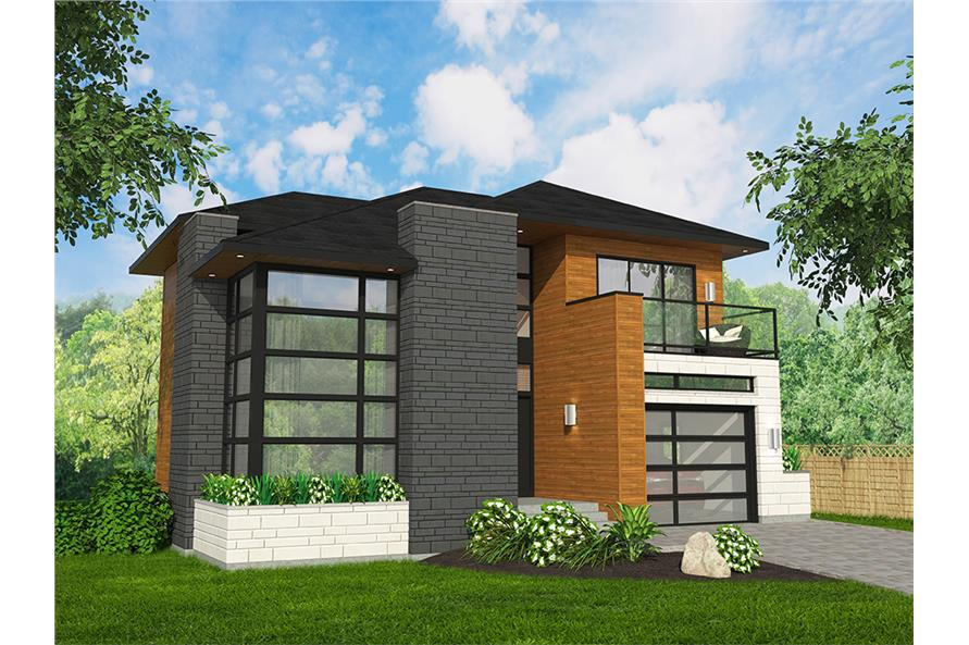 3 Bedrm 1666 Sq Ft Cottage House Plan 158 1316 Contemporary House Plans Modern House Plans Cottage House Plans