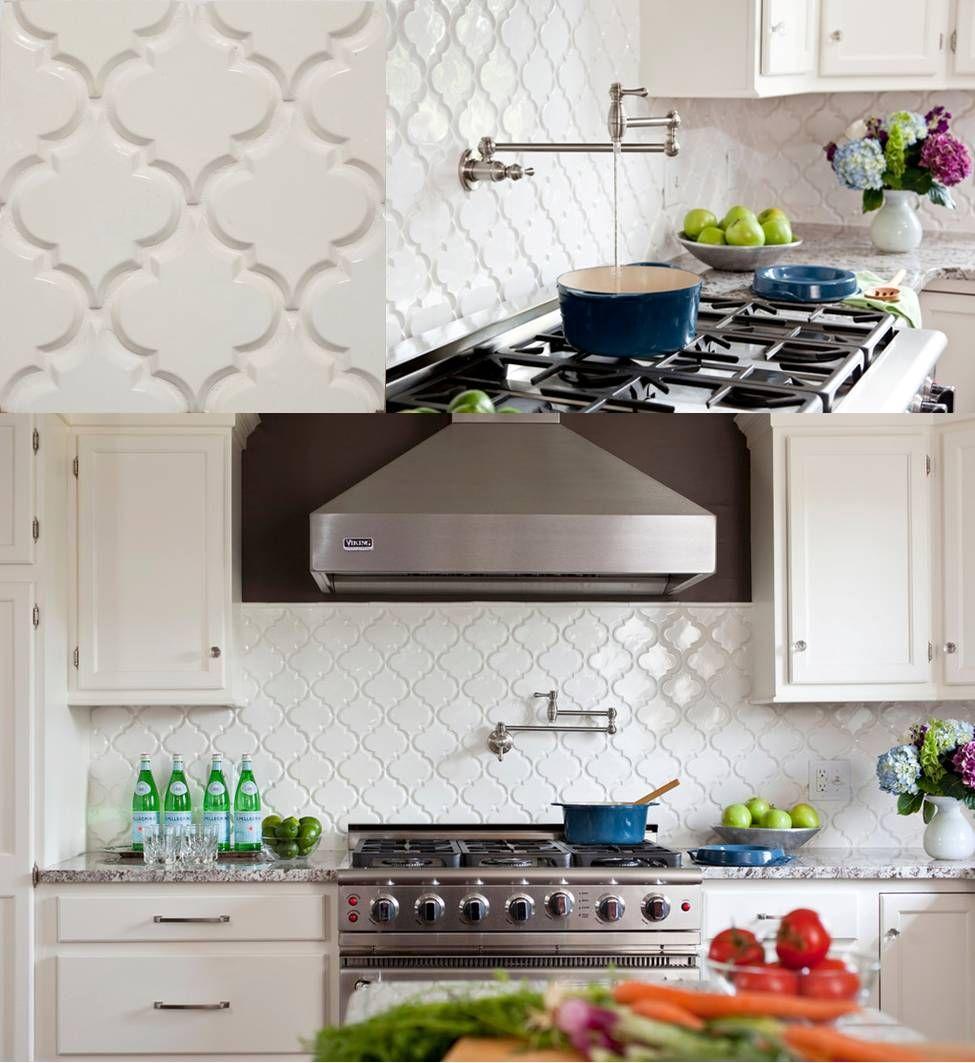 Back For More Beveled Arabesque Tile Http Www Missionstonetile