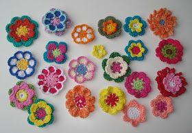Bloemen Haken Haakidee Crochet Crochet Flowers En Diy Crochet