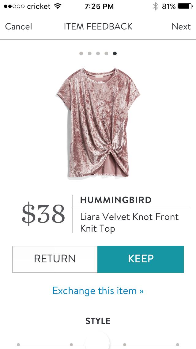 f6ea3358f02d3 Hummingbird Liara Velvet Knot Front Knit Top Knot Front Top