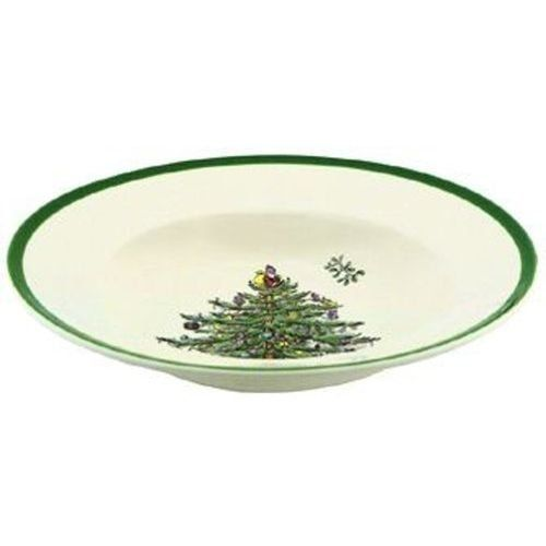 Spode Christmas Tree Soup Plate, Set of 4 | Spode ...